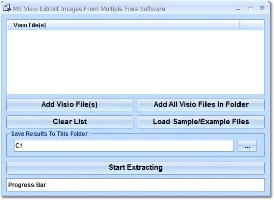 MS Visio Extract Images From Multiple Files Software