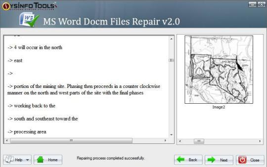 MS Word DOCM Files Repair