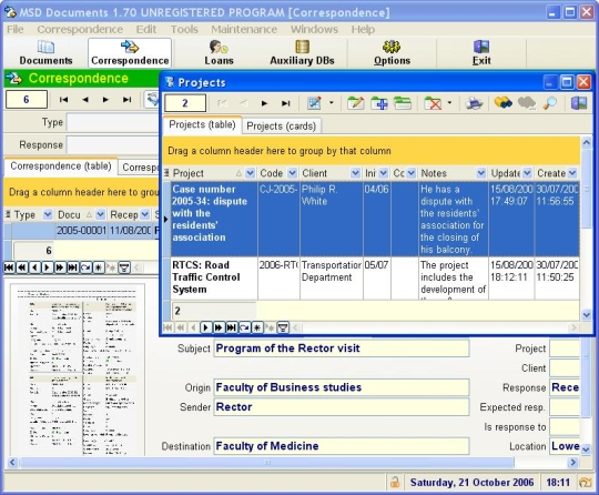 MSD Documents Multiuser