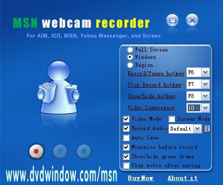 MSN Webcam Recorder 2014