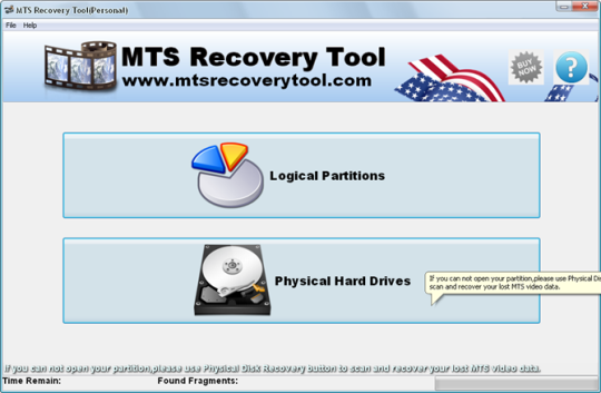 Mts Recovery Tool
