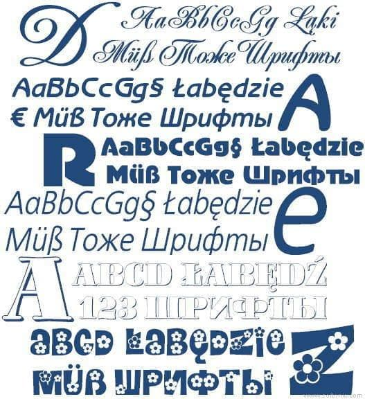MultiFonts