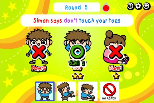 Multiplayer Simon Says