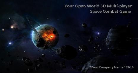 Multiplayer Space Combat Builder Lite Demo