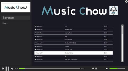 Music Chow Music Player