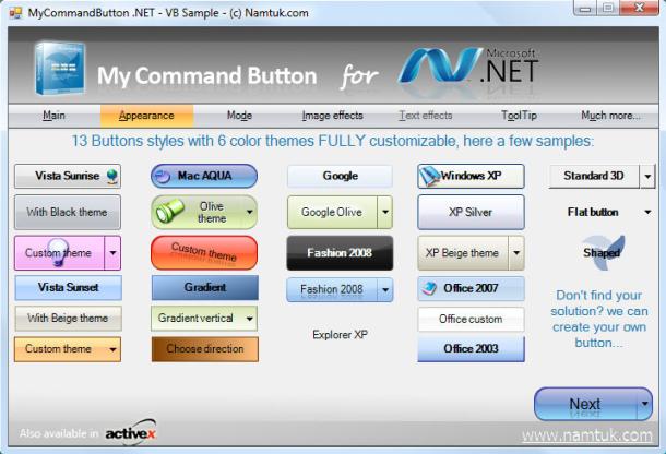 My Command Button .NET
