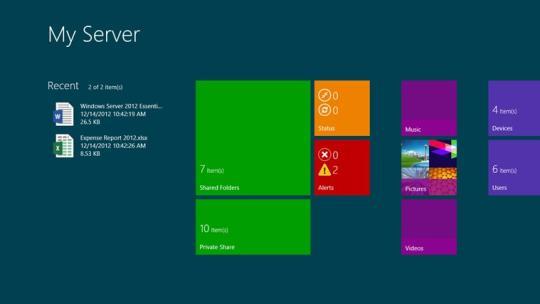 My Server for Windows 8
