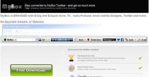 MyBox Community Toolbar