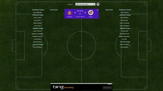 MyFootball for Windows 8
