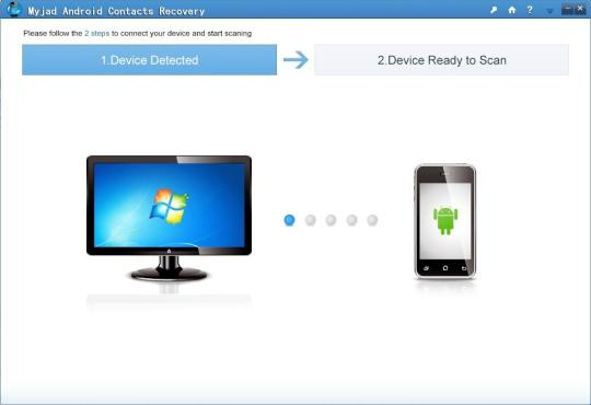 Myjad Android Contact Recovery