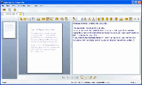 MyScript for Livescribe