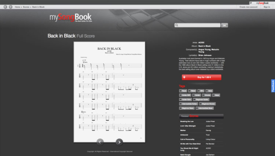 mySongBook Player
