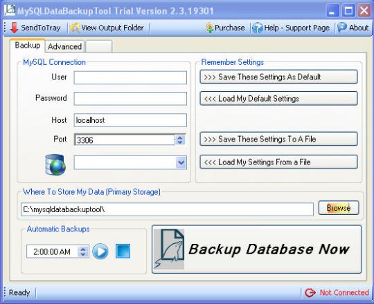 MySQLDataBackupTool