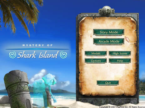 Mystery of Shark Island Game