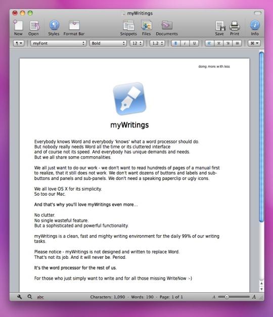 myWritings