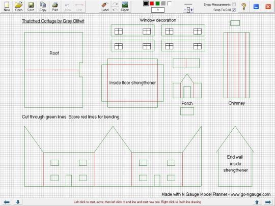N Gauge Model Planner