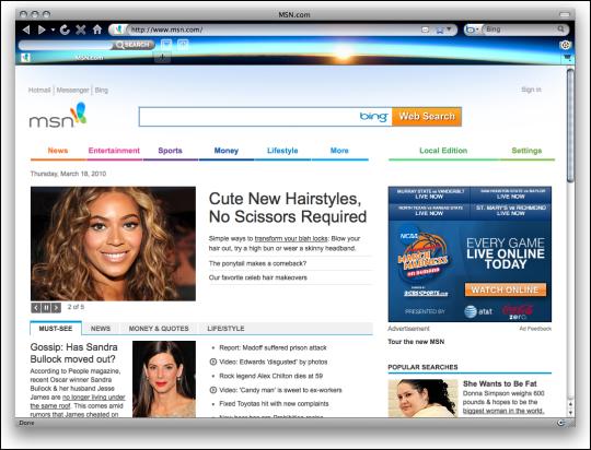 NASA Sunset Firefox Interactive Theme