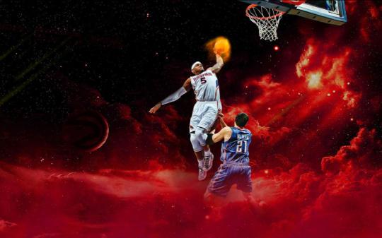 NBA On Fire Screensaver