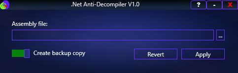 .NET Anti-Decompiler