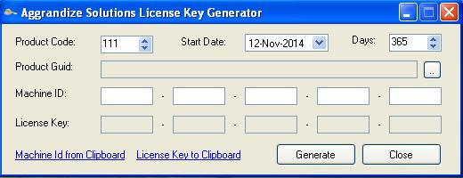 .Net License Manager