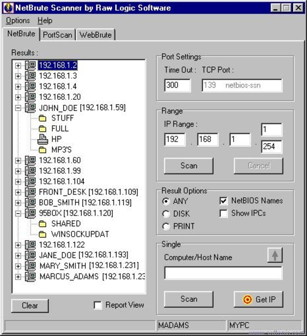 NetBrute Scanner Suite