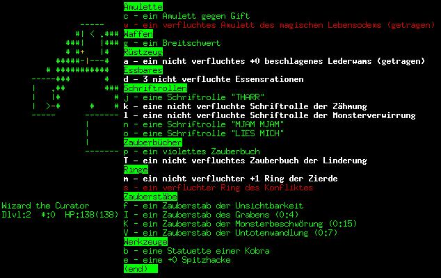 NetHack-De