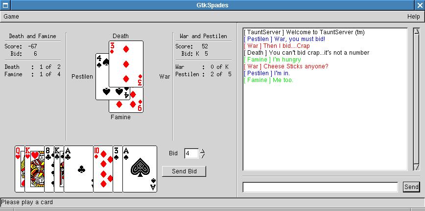 NetSpades