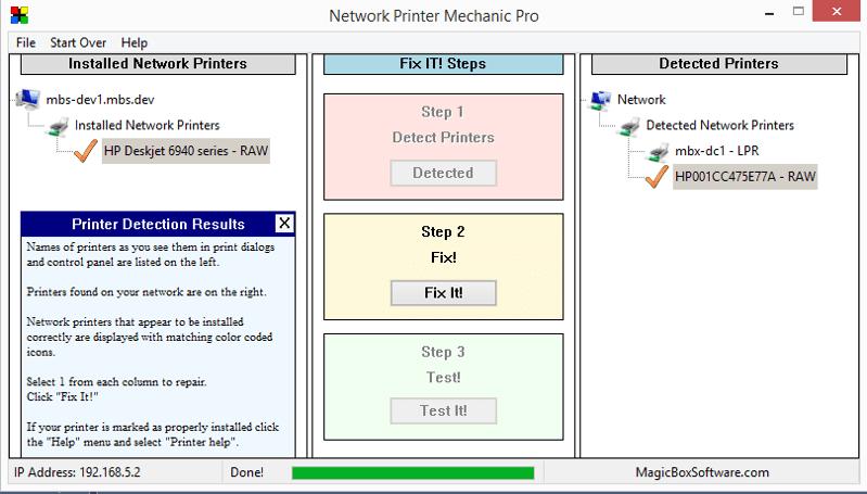 Network Printer Mechanic Pro