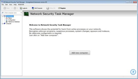 Network Security Task Manager Portable