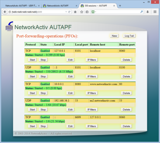 NetworkActiv AUTAPF