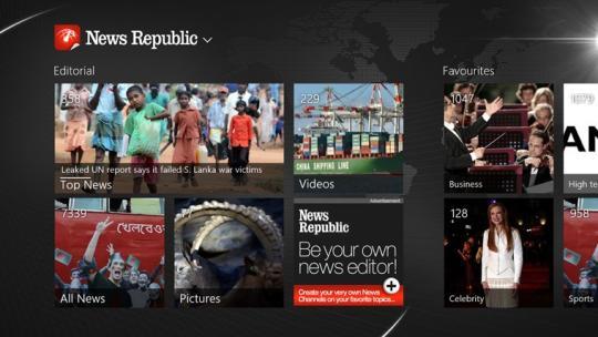 News Republic for Windows 8