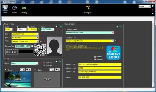 Nexuz Barcode
