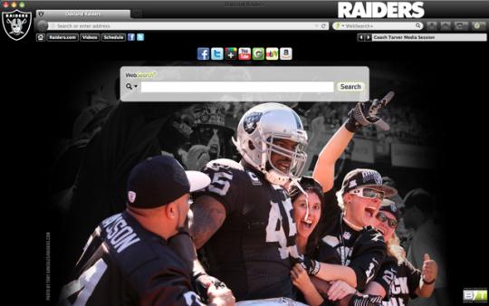 NFL Oakland Raiders Theme