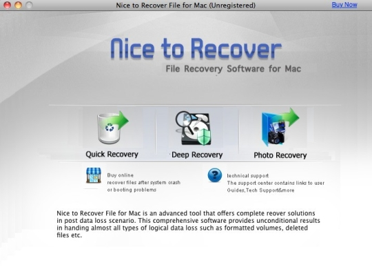 Nice to Recover File