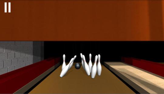 Ninepin Bowling Simulation