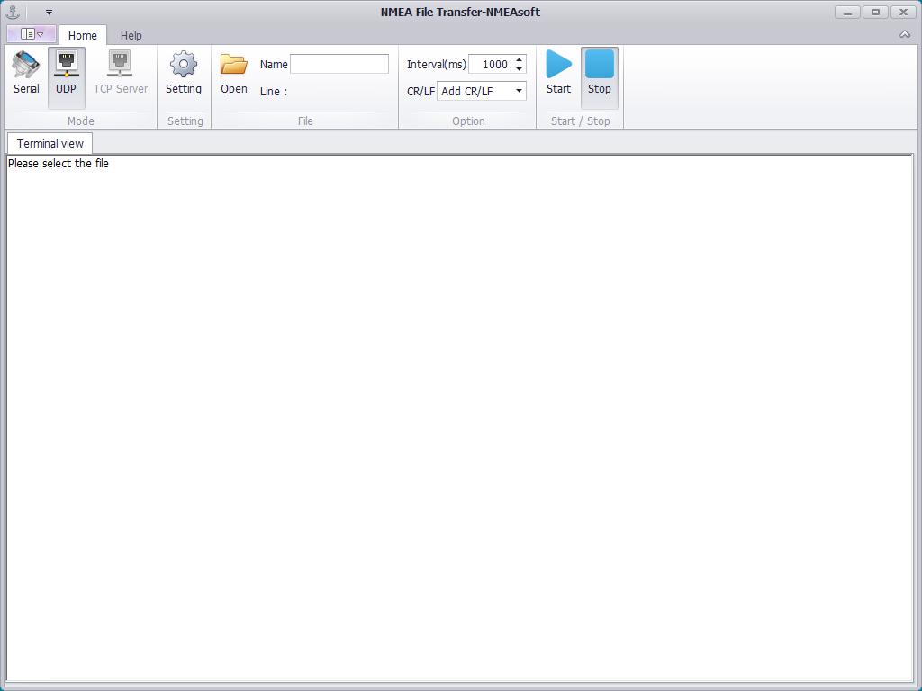 NMEA File Transfer