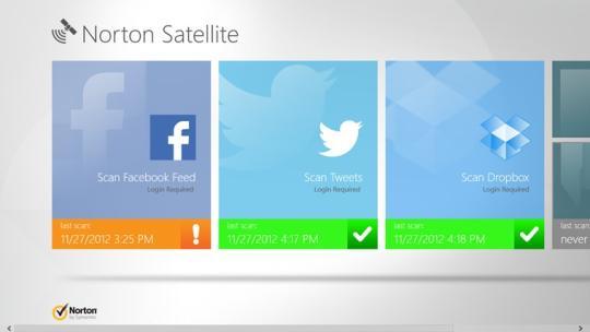 Norton Satellite for Windows 8