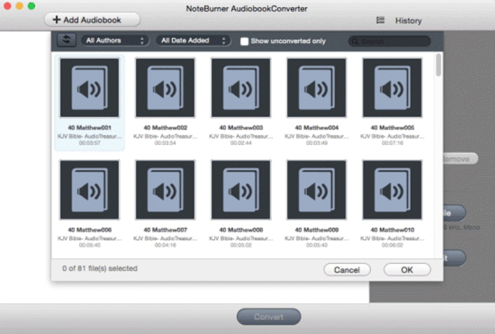 NoteBurner Audiobook Converter