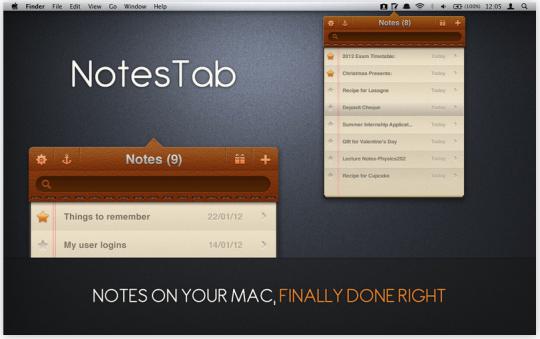 NotesTab