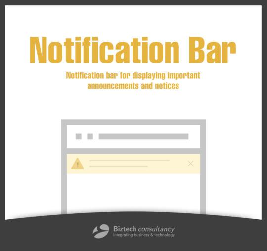 Notification Bar Extension