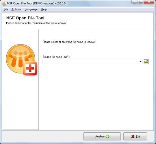 NSF Open File Tool