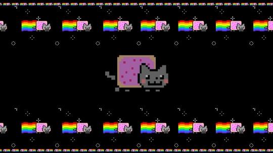 Nyan Pop Tart Cat Screensaver