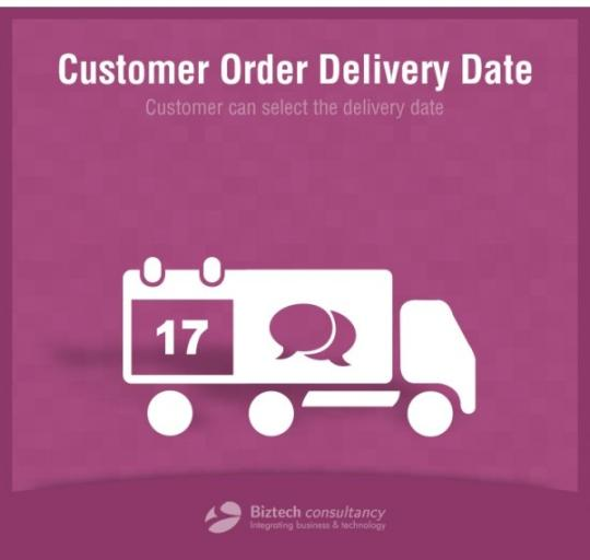 Odoo Customer Order Delivery Date