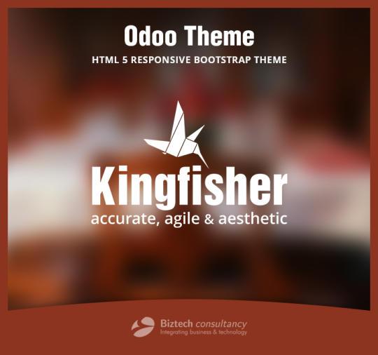 Odoo Theme Kingfisher