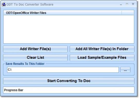 ODT To Doc Converter Software