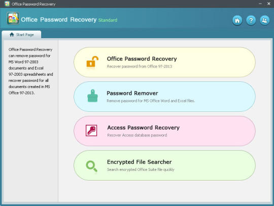 Office Password Recovery Standard