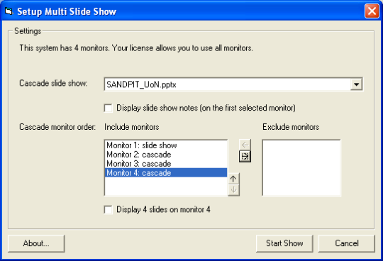 OfficeOne Multi-Slide Show