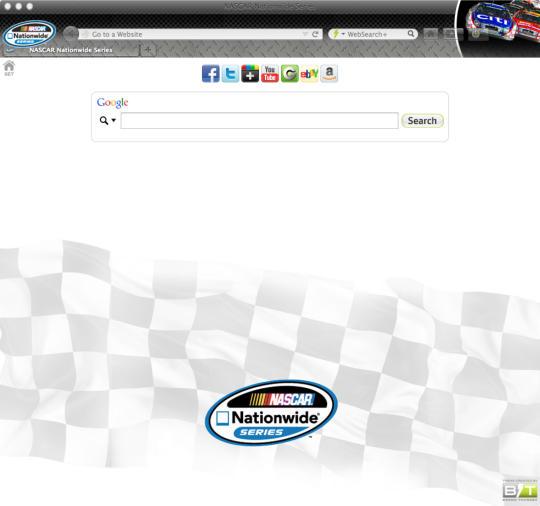 Official NASCAR Firefox Theme