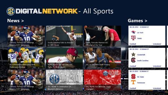 Official SEC Digital Network for Windows 8