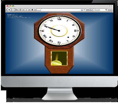 Old Wall Clock Screensaver